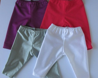 18 Inch Doll Clothes * Lycra Leggings * Our Generation *  Journey Girl  * Designafriend * Choose two pairs