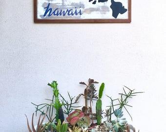 Hawaii Islands // Island Signs // Hand Painted Hawaii Islands // Home Decor