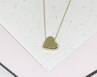 9ct Yellow Gold Love Heart Necklace