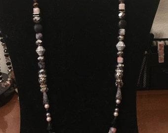 Pink Punk necklace