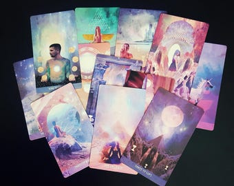 Akashic Records Reading | Five Card Intuitive Reading | The Starchild Tarot- Akashic Deck | Sent via e-mail in PDF Format