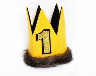 Wild Things Birthday Party Crown, Gold Max Crown, Lion King Crown, Lion King, Where The Wild Things Are Party Supplies, Wild Thing Theme, 1