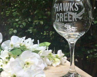 Custom Wine Glass With Stem