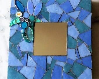 Mirror mosaic blue shades - purple