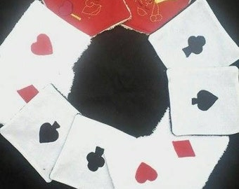 """10 wipes """"card game Alice"""""""