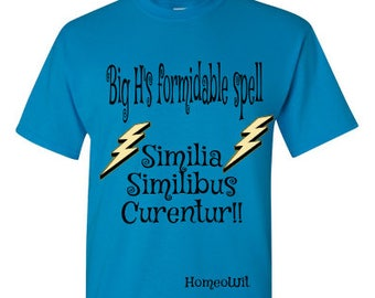 Homeopathy Tee Homeopathy T-shirt Law of Similars