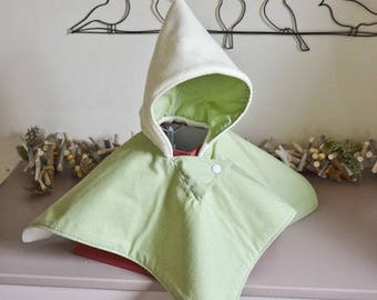 Green peas and fleece Cape