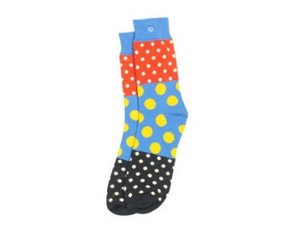 Yellow Polkadots Socks