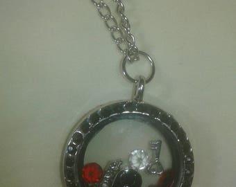 Scorpio Love Locket Necklace