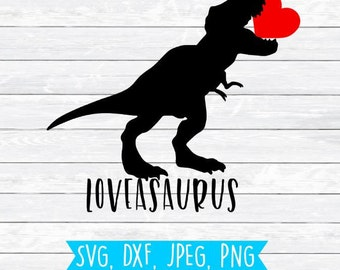 Valentine Svg file, Dxf, Cut file, Commercial use, Dinosaur Svg, Valentine's Svg, Boy Shirt, Boy Valentine Svg, Silhouette, Cricut, Boy,Dino