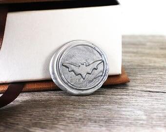 Bat wax seal stamp kit, custom animal seal, wedding envelope seal,party wax seal stamp set