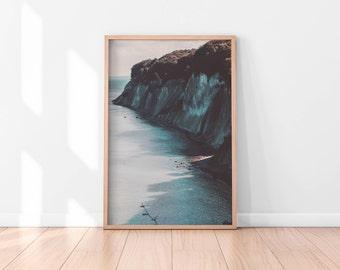 Ocean Wall Art, Blue Wall Art Printable, Beach Printable Art, Ocean Printable Poster, Ocean Wall Decor, Ocean Printable Art Digital Download