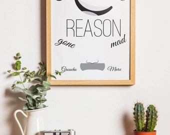 Printable Wall Art, Printable Quote, Wall Art Print, Iconic Quote, Groucho Marx Quote, Wall Decor