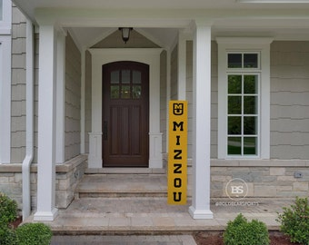 Mizzou, Porch Sign, Missouri, Mizzou Tigers, Outside Decor