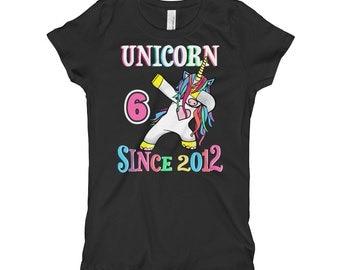 Unicorn Shirt, Girls Unicorn Shirt, Unicorn Party, Unicorn Birthday, Unicorn Shirt Girls, Unicorn Tshirt, Unicorn Tee, Girls Birthday 6