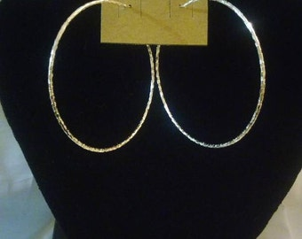 Silver Earrings Hoops