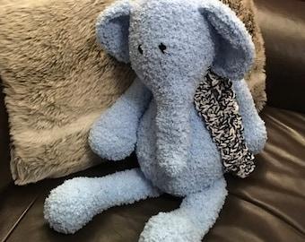 Bridget the Elephant, crochet, plush, toy,