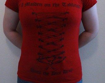 Red Tabletop Gaming Shirt