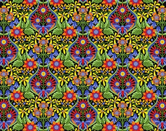 Jane Sassaman Queen of the May Mexican Spring Fever fabric