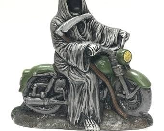 Biker Grim Reaper