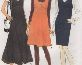Very Easy Vogue Jumper Womens Size 14 16 18 Uncut Sewing Pattern 1990s
