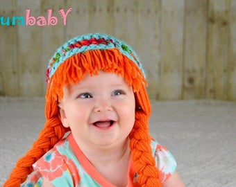 Baby Hats Cabbage Patch Hat Halloween Costume Baby Wig Cabbage Patch Costumes