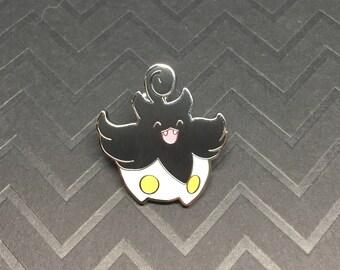 Pumpkaboo - B&W Enamel Pin Lapel Pin