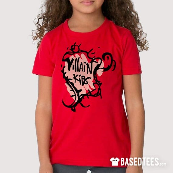 Villain Kids Evie T-shirt (kids and adult sizes)