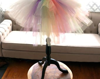 Unicorn Tutu - Adult Tutu - Women's Tutu - White Tutu - Halloween Tutu