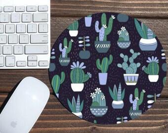 mouse pad / mousepad / cactus mouse pad / cactus mousepad / cactus / office decor / mouse mat / desk accessories / succulent mouse pad