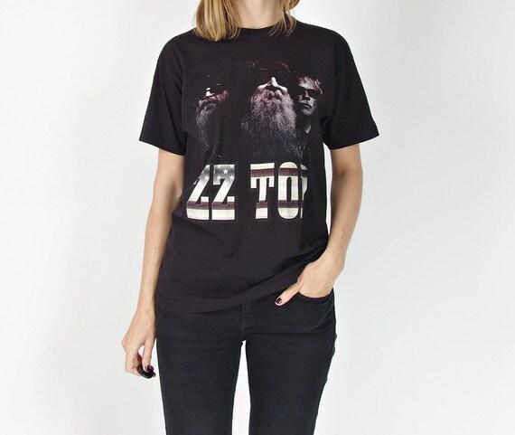 ZZ Top American & European Tour t-shirt / size S-M