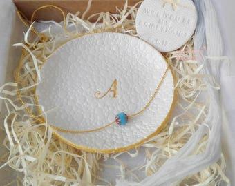 BRIDESMAID Gift, Wedding Gifts for Bridesmaids, Will you be my bridesmaid box, bridesmaid proposal, ring dish gift, personalized ideas
