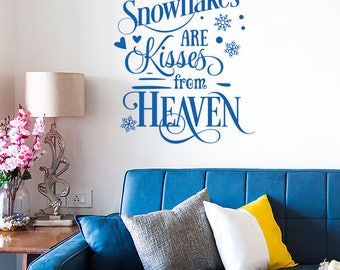 Christmas Wall Decal Etsy - Christmas wall decals removable