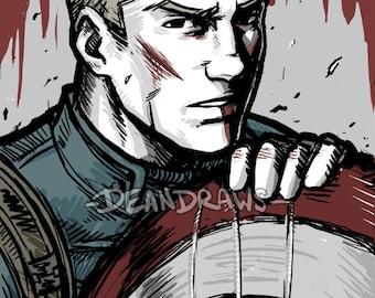 Bloody Steve (PRINT)