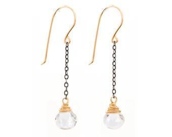 Boho Earrings for Women - Earrings GIft Idea for Women - Crystal Earrings - Boho Earrings - Long Earrings for Women