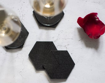 Cube Coasters - set of 4
