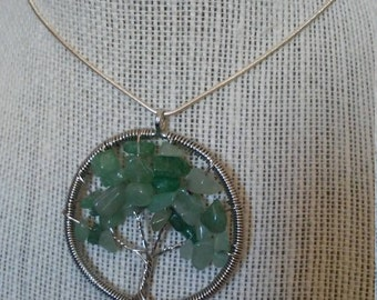 Wire Wrapped Tree of Life Necklace