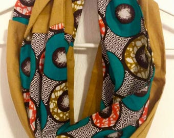 Modern Mozambican Infinity Scarf
