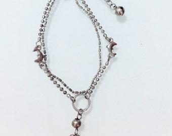 Dolphins Silver Bracelet