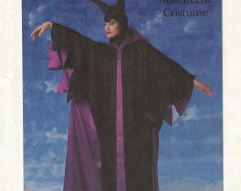 UNCUT Simplicity 8329 Disney Maleficent Costume Pattern Misses' Size Small