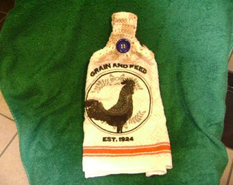 Rooster Towel
