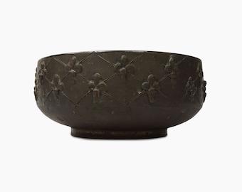 Fratelli Fanciullacci Bowl Italian Ceramics Mid Century Modern MCM MOD Decor Vase Art Pottery Round