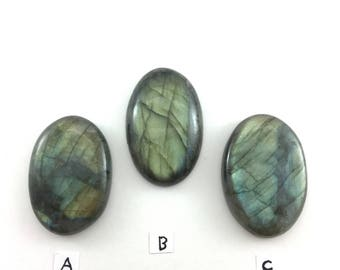 Large Oval Labradorite Cabochon to Awaken Inner Spirit and Psychic Abilities