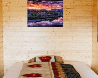 Napa Valley California Wall Art / Metal Print / Anniversary Gift / Shadow Mounted Easy Hang / Housewarming Gift / Wine Tasting