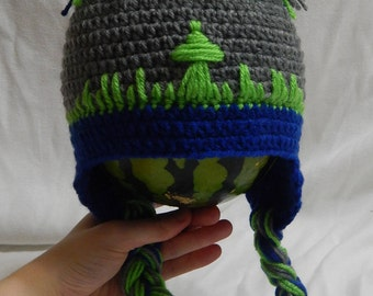 Seattle Seahawks Baby/Toddler Hat