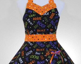GIRL'S SIZE 10-12 HALLOWEEN apron