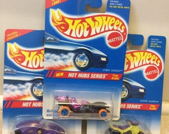 Hot Wheels Hot Hub Series Set (#1, #2, and #4 only)