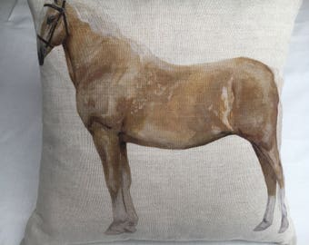 Palomino Horse Cushion