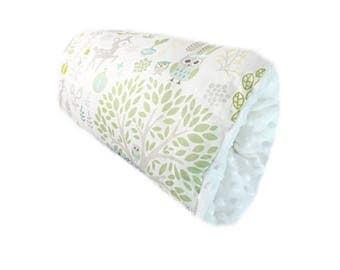 Baby Bumpee Slip On Nursing Pillow- Forest Friends