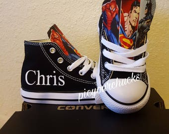 Superhero chucks